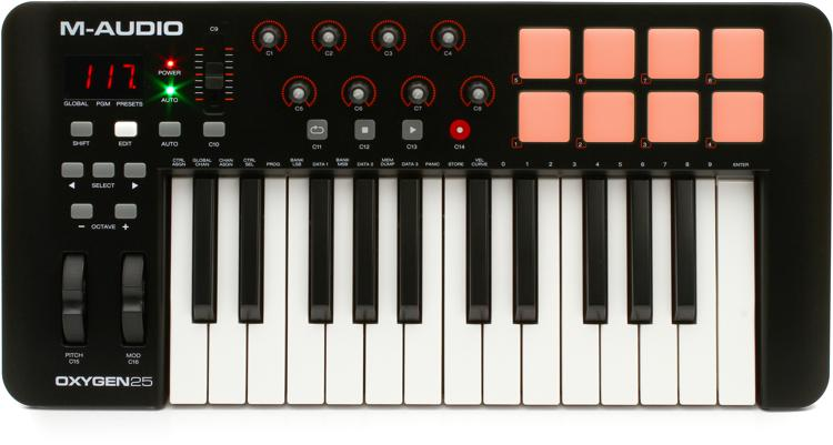 M-Audio Oxygen 25 Keyboard Controller image 1