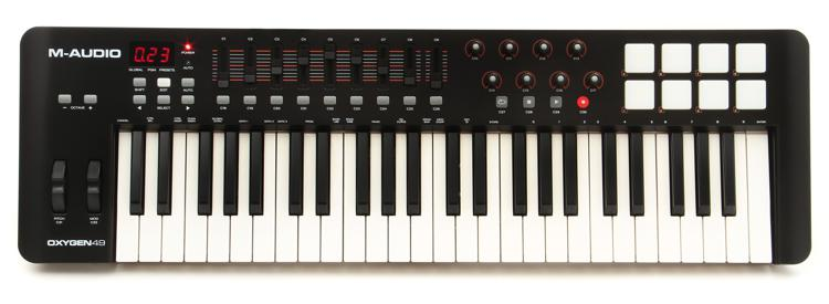 M-Audio Oxygen 49 Keyboard Controller image 1