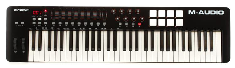 M-Audio Oxygen 61 Keyboard Controller image 1