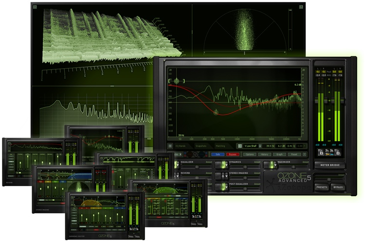 iZotope Ozone 5 Advanced Mastering Suite Plug-in - Upgrade from Ozone 1-5 image 1