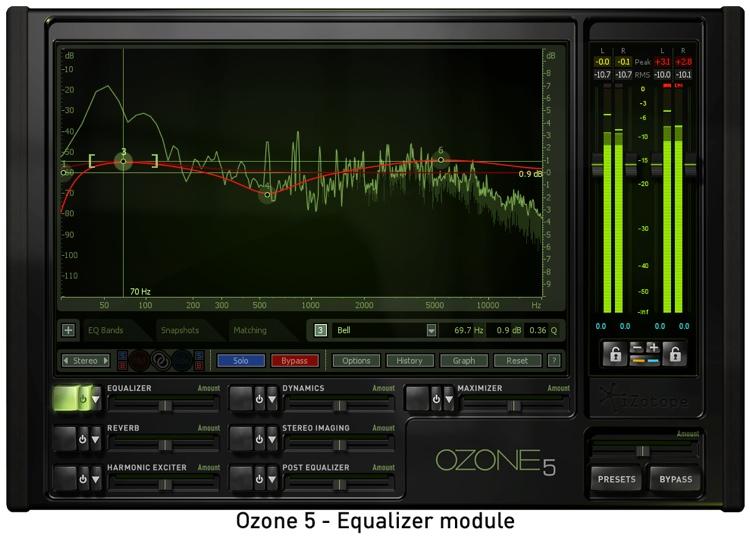 iZotope Ozone 5 Mastering Suite Plug-in - Academic Version image 1