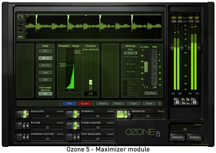 iZotope Ozone 5 Mastering Suite Plug-in - Upgrade from Ozone 4 image 1