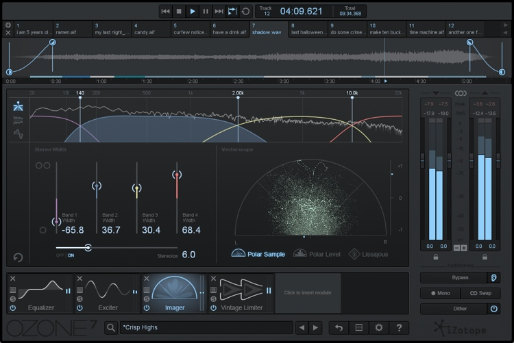 iZotope Ozone 7 Advanced Mastering Suite - Upgrade from Ozone Advanced image 1