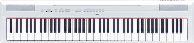 Yamaha P-115 Digital Piano - White image 1