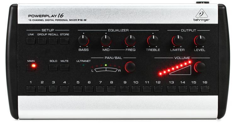 Behringer Powerplay P16 M 16 Channel Digital Personal