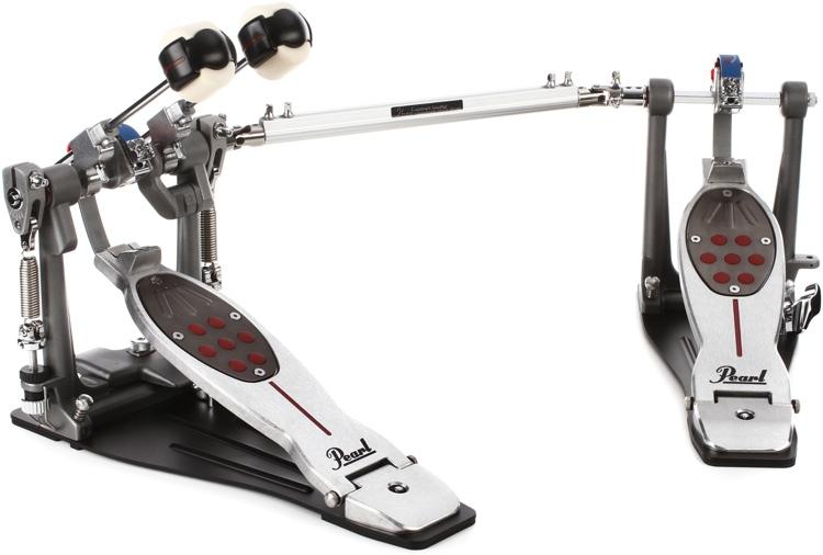 Pearl Eliminator Redline Double Bass Drum Pedal - Belt Drive, Left-handed image 1