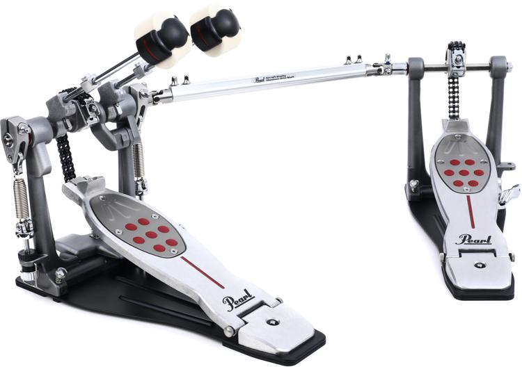 Pearl Eliminator Redline Double Bass Drum Pedal - Chain Drive, Left-handed image 1