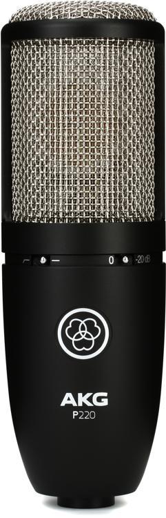 AKG P220 Large-Diaphragm Condenser Microphone image 1