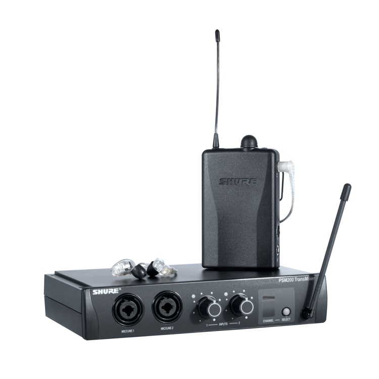 Shure P2TR215CL System image 1