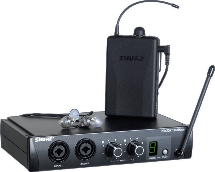 Shure PSM 200 - H2 (518.750 - 553.250 MHz) image 1