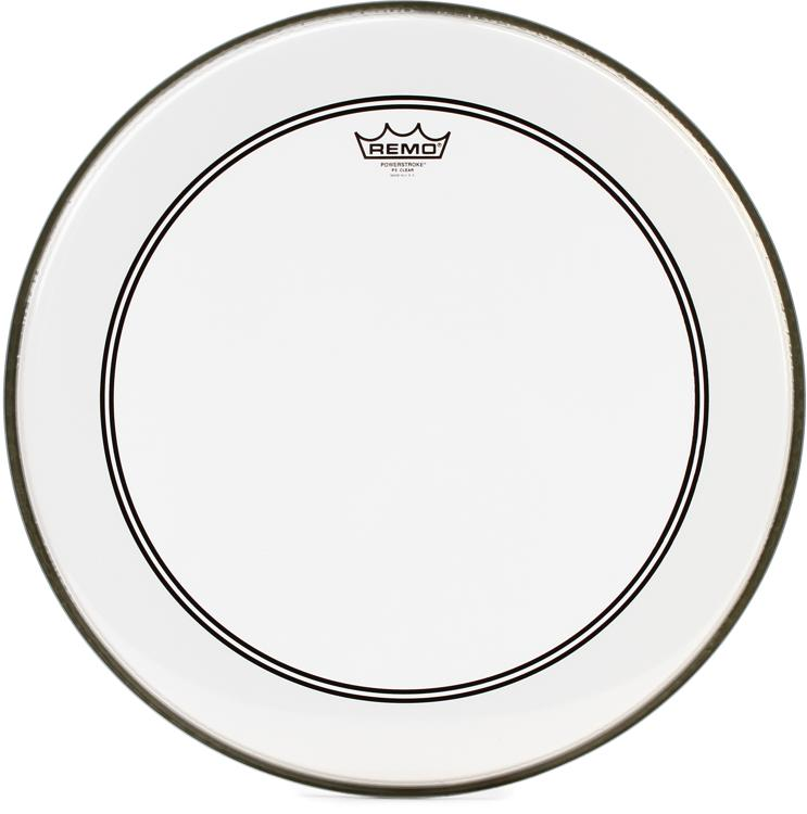 Remo Powerstroke 3 Bass Drumhead with 2.5