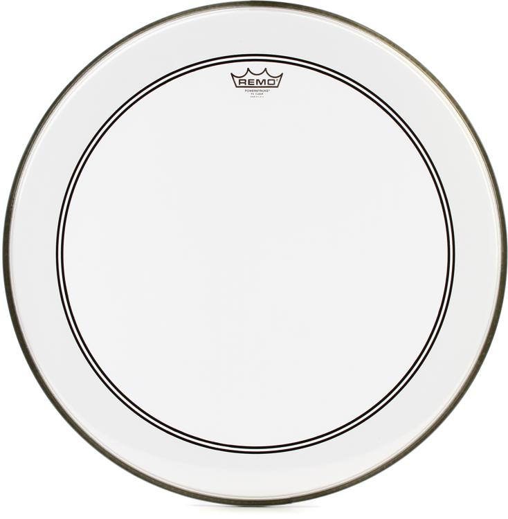 Remo Powerstroke 3 Clear White Drumhead - 23