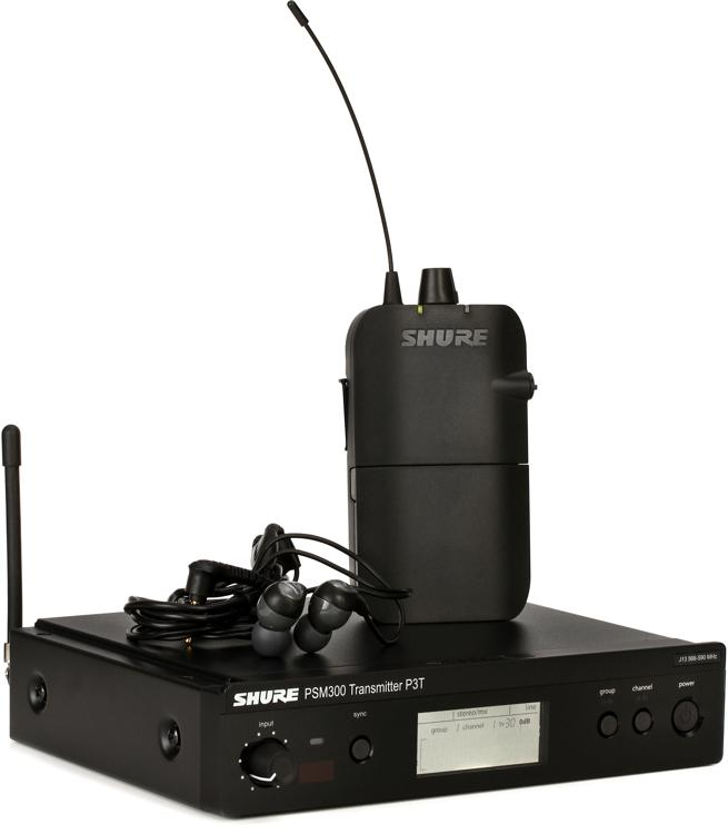 Shure P3TR112GR Wireless In-ear Monitor System - J13 Band image 1