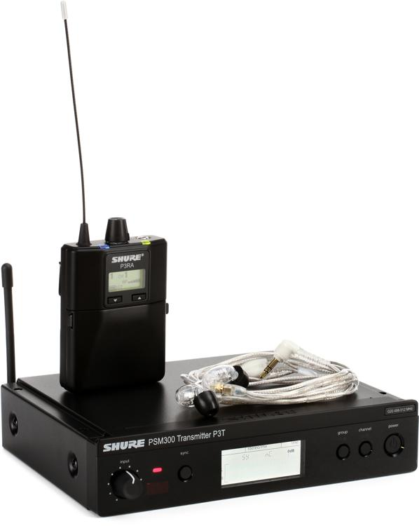 Shure P3TRA215CL Wireless In-ear Monitor System - G20 Band image 1
