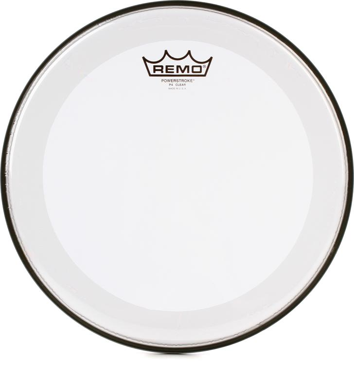 Remo Powerstroke 4 Clear Drum Head - 12