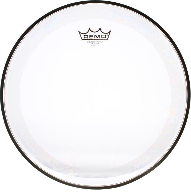 Remo Powerstroke 4 Clear Drum Head - 14