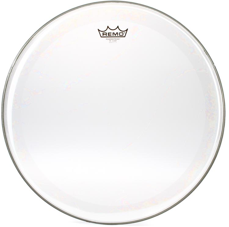 Remo Powerstroke 4 Clear Drum Head - 18