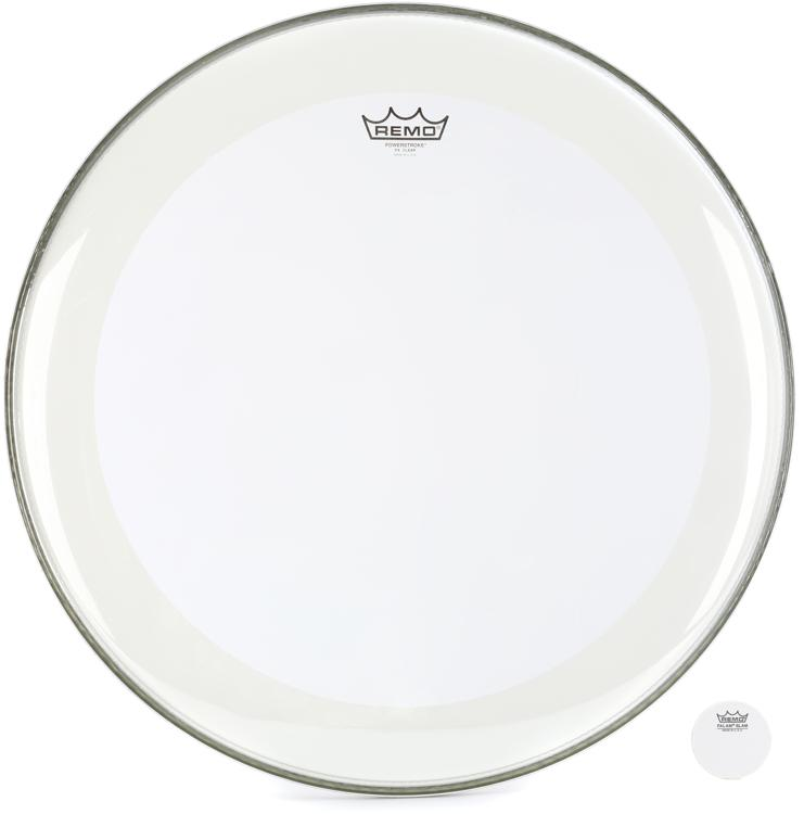 Remo Powerstroke 4 Clear Bass Drumhead - 22