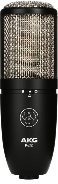 AKG P420 Large-Diaphragm Condenser Microphone image 1
