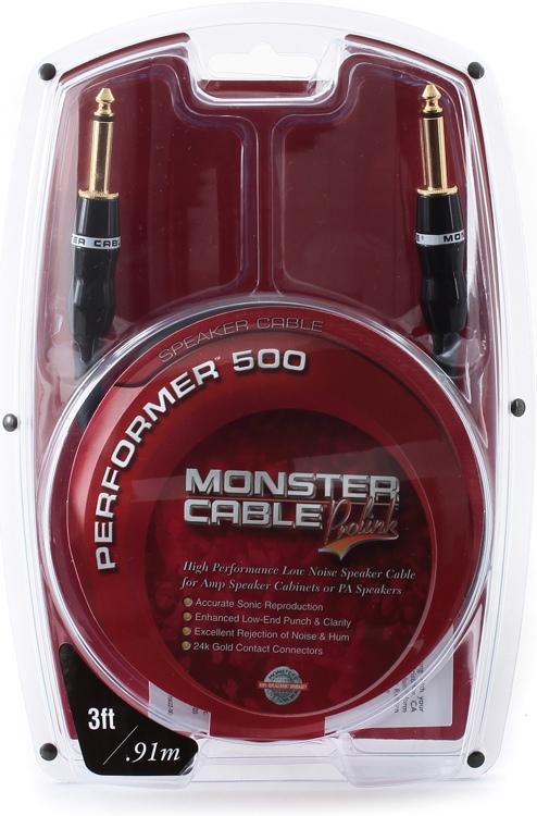 Monster Performer 500 Speaker Cable - 3\' image 1