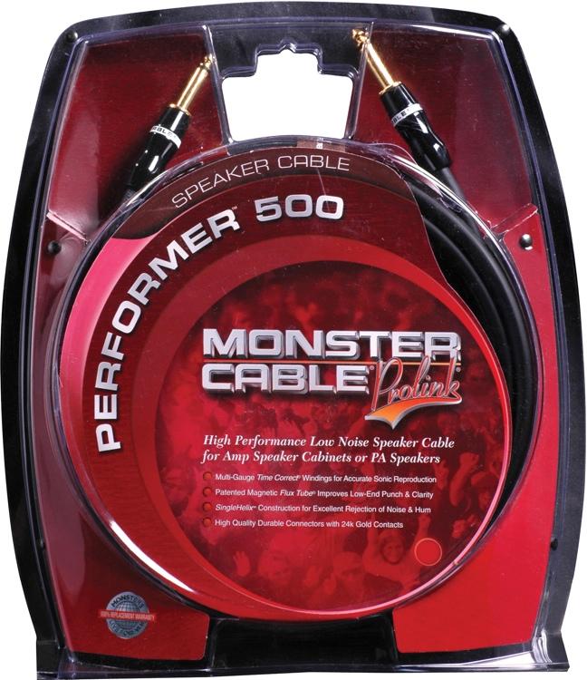 Monster Performer 500 Speaker Cable - 6\' image 1