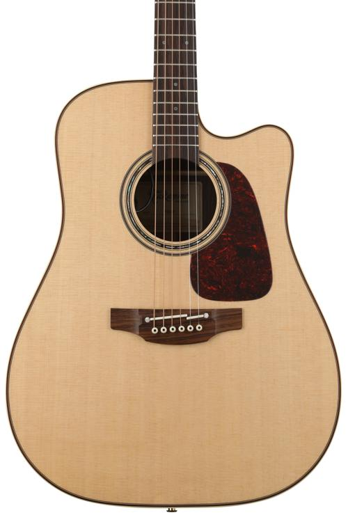 Takamine P5DC Pro Series Dreadnought Acoustic/Electric w/Cutaway, Natural image 1