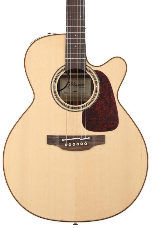 Takamine P5NC Pro Series NEX Acoustic/Electric w/Cutaway, Natural image 1