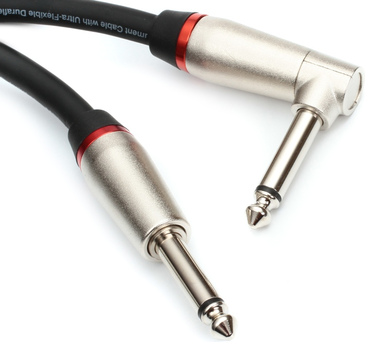 Monster Performer 600 Instrument Cable - 1.5\' Straight-Angle image 1