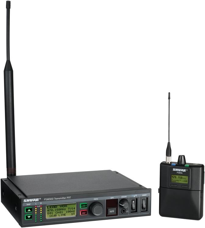 Shure P9TRA - K1 Band, 596 - 632 MHz image 1
