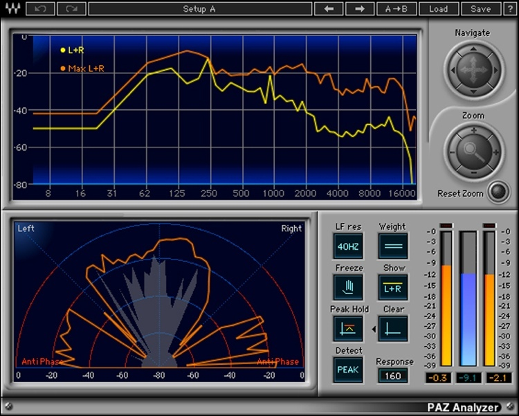 Waves PAZ Analyzer Plug-in for Academic Institutions - Native image 1