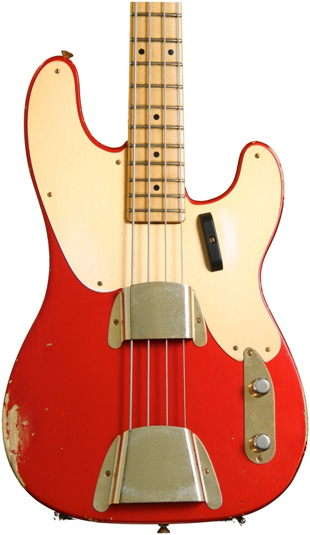 Fender Custom Shop 1951 Relic Precision Bass - Melon Candy image 1