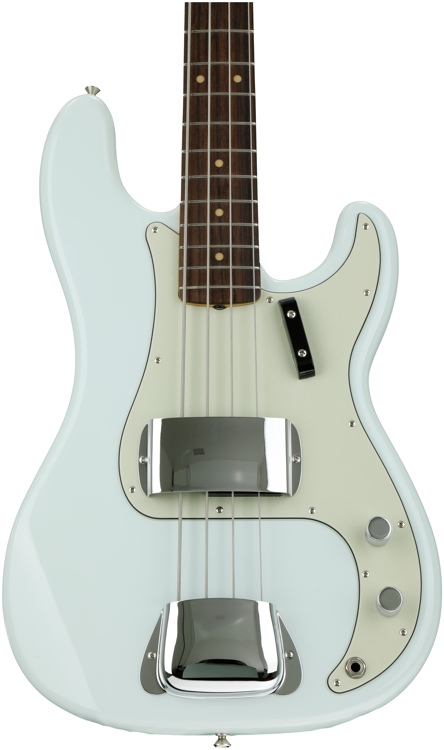 Fender American Vintage \'63 Precision Bass - Faded Sonic Blue image 1