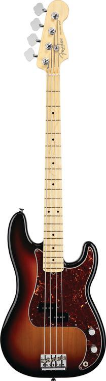 Fender American Standard Precision Bass - 3-tone Sunburst, Maple Fingerboard image 1