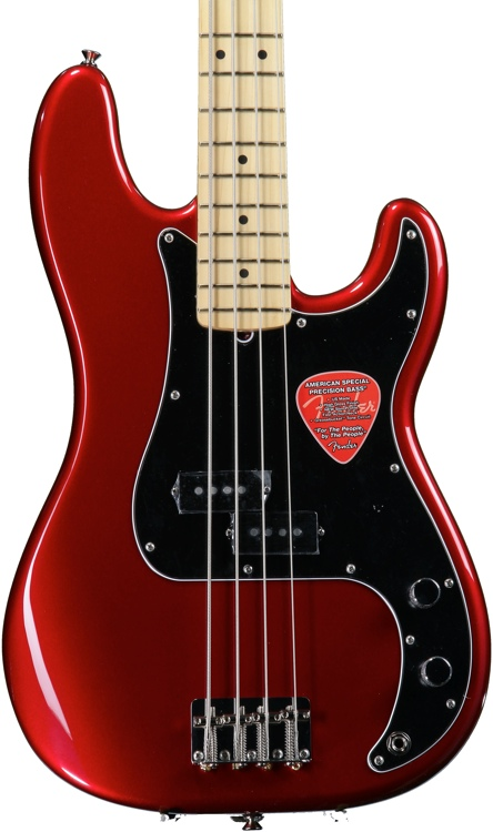 Fender American Special Precision Bass - Candy Apple Red image 1