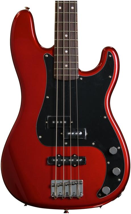 Squier Affinity Series Precision Bass PJ - Metallic Red image 1