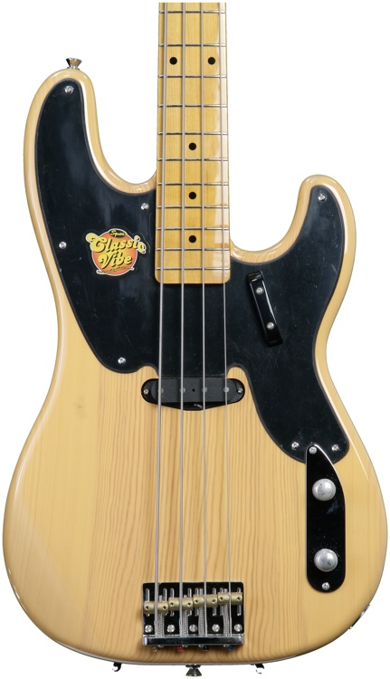 Squier Classic Vibe Precision Bass \'50s - Butterscotch Blonde image 1