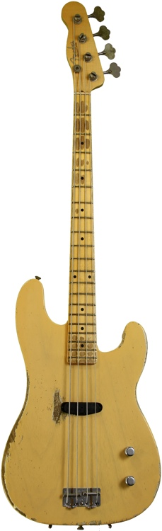 Fender Custom Shop Dusty Hill Signature Precision Bass - Blonde image 1