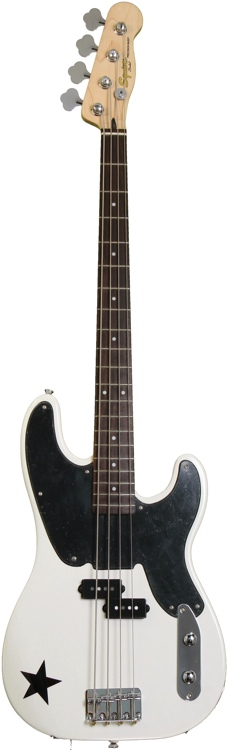 Squier Mike Dirnt Precision Bass - Arctic White image 1
