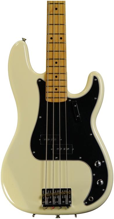 Squier Matt Freeman Precision Bass - Vintage White image 1