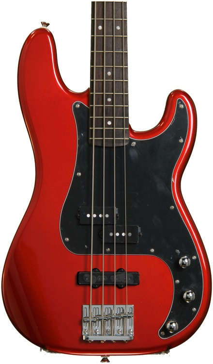 Squier Vintage Modified Precision Bass PJ - Candy Apple Red image 1