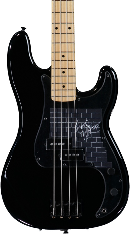 Fender Roger Waters Precision Bass - Black image 1