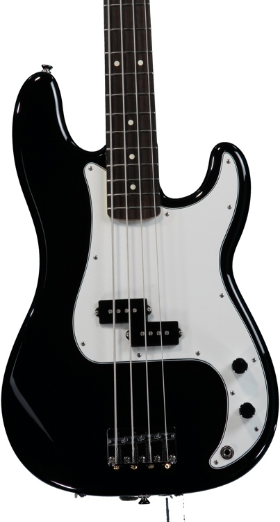 Fender Standard Precision Bass - Black with Rosewood Fingerboard image 1