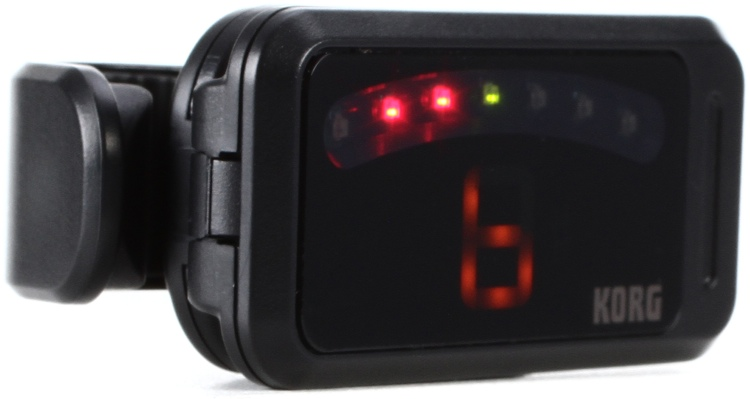 Korg Pitchclip Clip-on Chromatic Guitar Tuner image 1