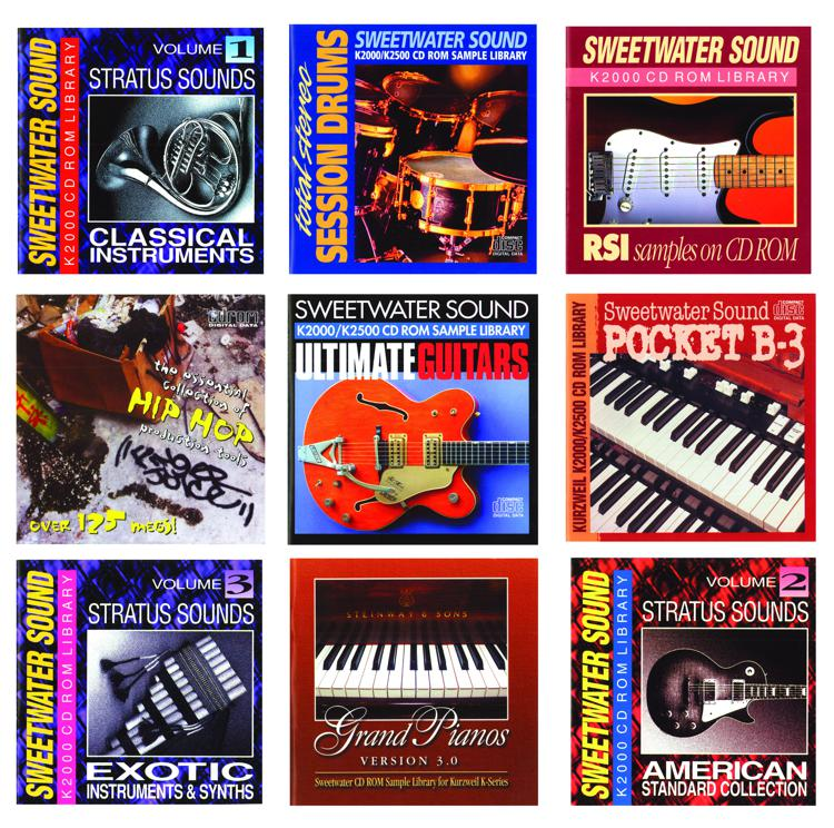 Sweetwater Sound Kurzweil PC3K Library image 1