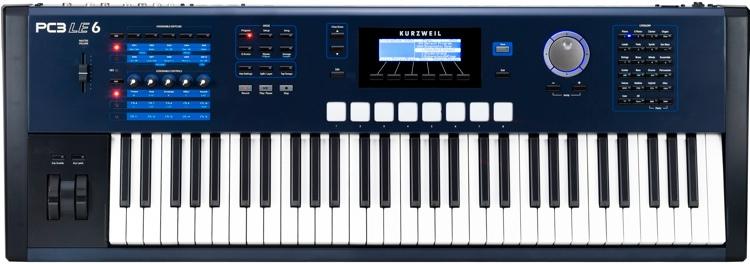Kurzweil PC3LE6 61-key Synthesizer Workstation image 1