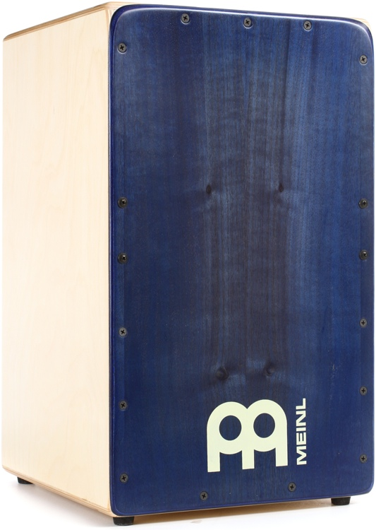 Meinl Percussion Artisan Edition String Cajon - Ocean Blue (Sweetwater Exclusive) image 1
