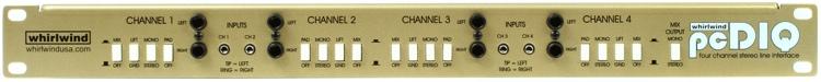 Whirlwind pcDIQ 4-channel Passive A/V Direct Box image 1