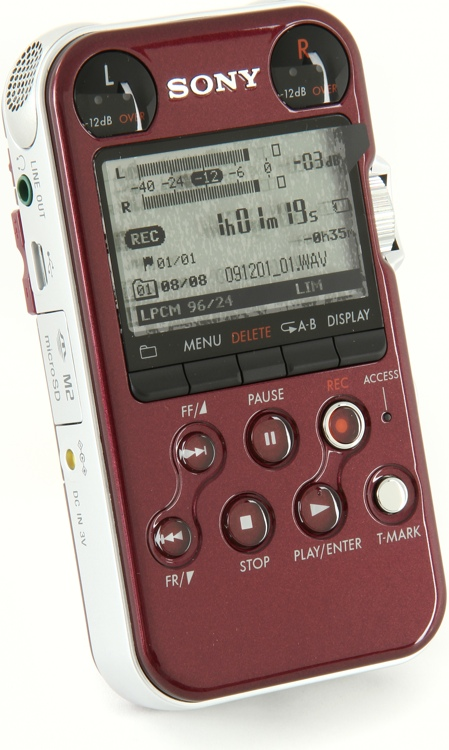 Sony PCM-M10 - Red image 1