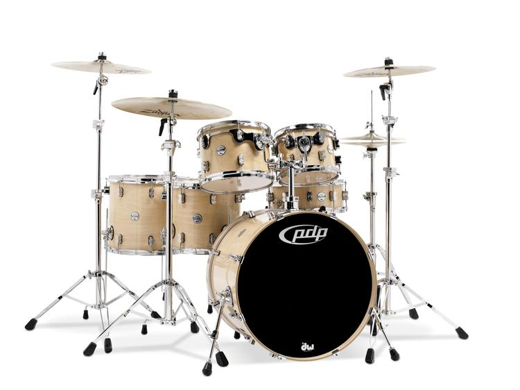 PDP Concept Maple Shell Pack - 6-piece - Natural Lacquer image 1