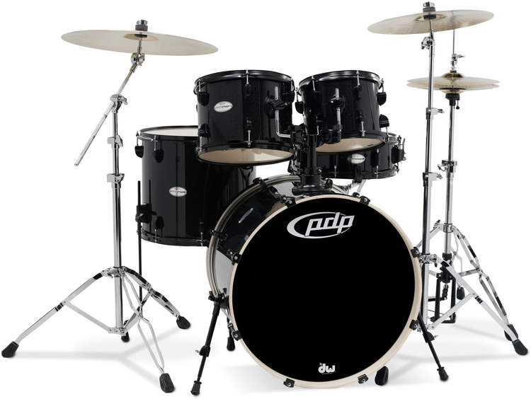Pdp Mainstage 5 Piece Drum Set With Hardware Paiste Cymbals